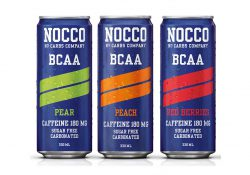 NOCCO Orange, BCAA-Non Carbonated