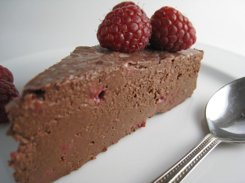 protein chocolate mousse